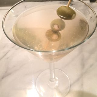 Hell's Dirty Martini