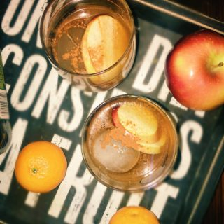Honeycrisp-Cinnamon Infused Old Fashioned