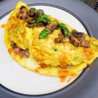 Steak & Cheese Omelette