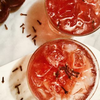 Spiked Pomegranate Punch