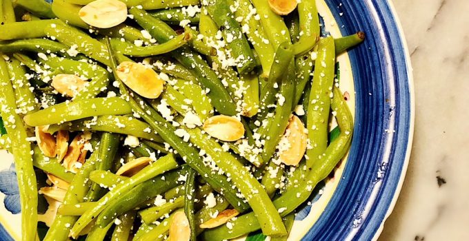 Feta Green Beans with Almonds